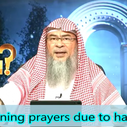 Combining Prayers due to hardship