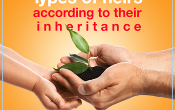 Types of heirs according to their inheritance