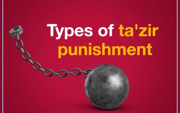 Types of ta'zir punishment