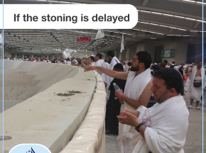 If the stoning is delayed