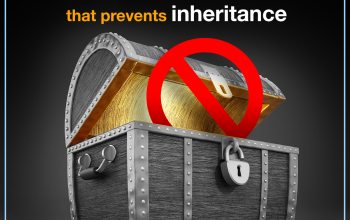 A cause that prevents inheritance