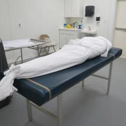 Burying a Muslim in a Coffin