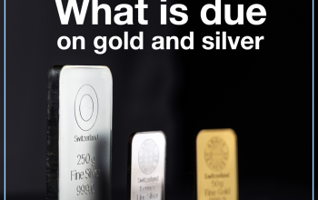 What is due on gold and silver