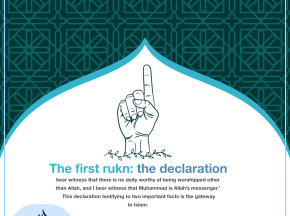 The first rukn: the declaration