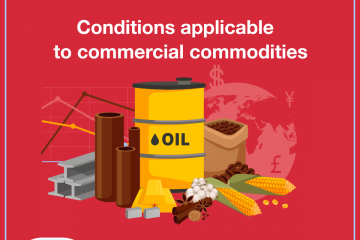 Conditions applicable to commercial commodities