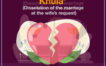 Khula' (Dissolution of the marriage at the wife's request)