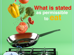What is stated as permissible to eat