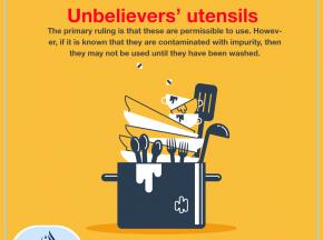 Unbelievers' utensils