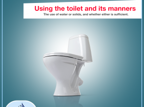 Using the toilet and its manners