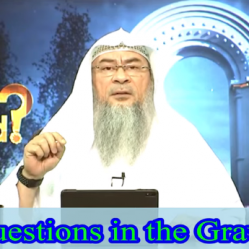 Questions in the Grave