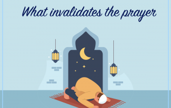 What invalidates the prayer