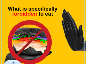 What is specifically forbidden to eat