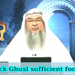 Is Quick Ghusl  sufficient for Wudu?