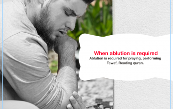 When ablution is required
