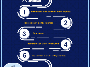 Conditions allowing dry ablution