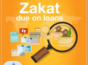 Zakat due on loans