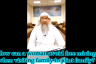 How can a woman avoid free mixing when visiting family in a joint family?