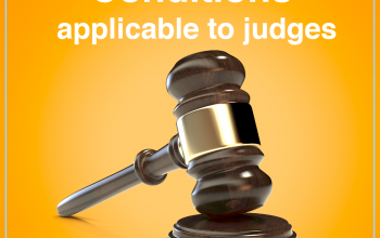 Conditions applicable to judges
