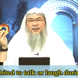 Does it break the wudu if we Talk or Laugh during Wudu?