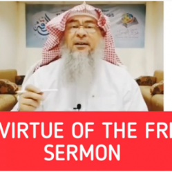 The importance of the Friday khutbah