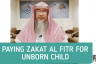 Paying Zakat Al Fitr for an unborn child