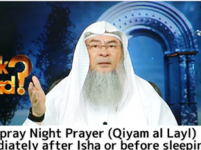Can I pray night prayers (Qayam Al Layl) immediately after Isha or before sleeping?