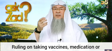 Ruling on taking vaccines, medicines or using gelatine that contain pork