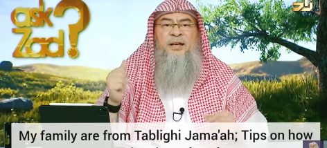 My family is from Tablighi Jamah, Tips on how to give them dawah