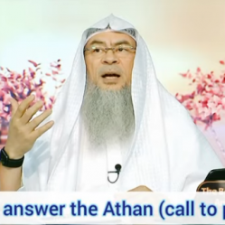 How to answer the adhan (call to prayer)?