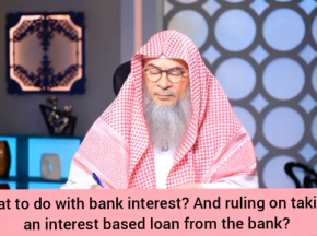 What to do with bank interest?