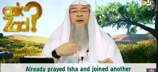 ​Already prayed isha & joined another congregation in 3rd rakah, how to conclude salah?