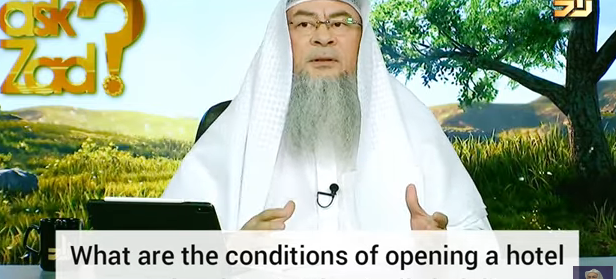 What are the conditions of opening a Hotel & making it Islamically halal?