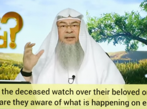 Do the deceased watch over their loved ones? Are they aware of what happens on earth