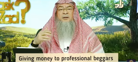 Giving money to professional beggars (Muslims or Non Muslims)
