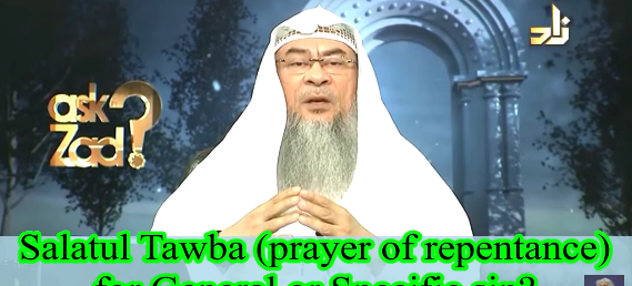 Salat ut Tawbah (prayer of forgiveness) for general sins or a particular sin?