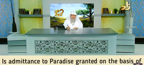 Are we admitted into Paradise due to our good deeds alone?