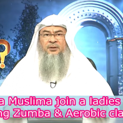 Can a Muslim Woman go to ladies gym that has Zumba and Aerobics?