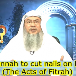 Is it Sunnah to cut nails on Friday?
