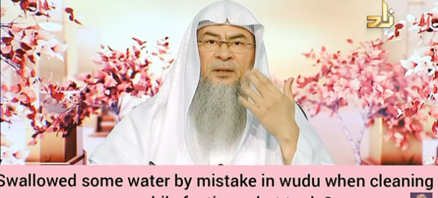 Swallowed some water by mistake when rinsing nose in wudu while fasting, what to do?