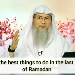 What are the best things to do in the last 10 nights of Ramadan?
