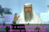 What can a woman do if she gets her menses / period during Laylatul Qadr?