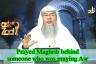 Praying Maghrib behind an imam who was praying Asr