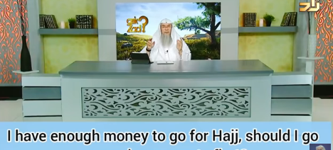 If I have money to go for hajj, should I go or send my parents first?