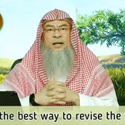 What is the best way to revise the Quran?
