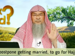 Can I postpone getting married, to go for Hajj first?
