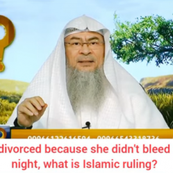 Woman was divorced because she didn't bleed on the wedding night