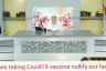 Does taking Covid 19 vaccine nullify our fast?