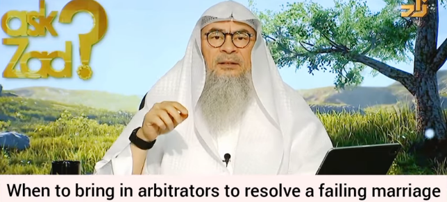 When to bring in arbitrators to resolve a failing marriage & who should be appointed