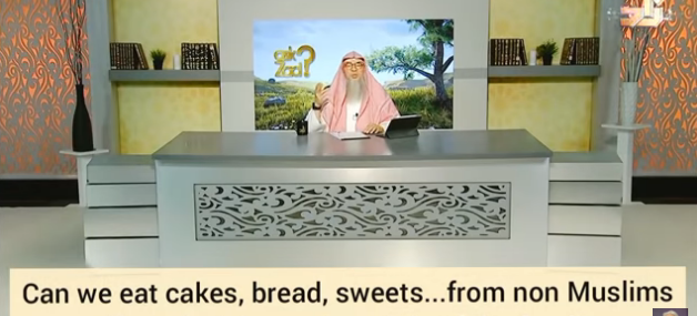Can we eat cakes, bread, sweets, veg food... from non muslims?