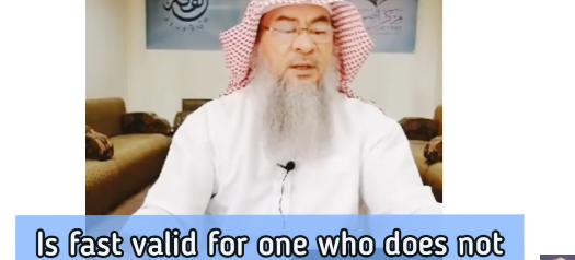 Is fast valid for someone who does not pray at all?